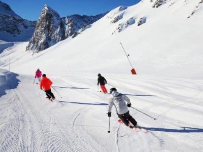 7 daagse wintersportvakantie voltijd instructie Tignes