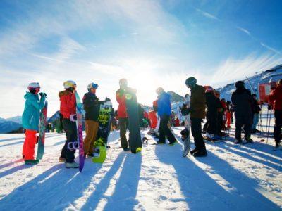 7 dagen wintersport voltijd instructie Serre Chevalier